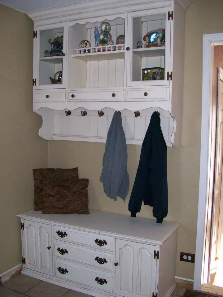 Great update to old hutch | Painted Furniture Ideas ...