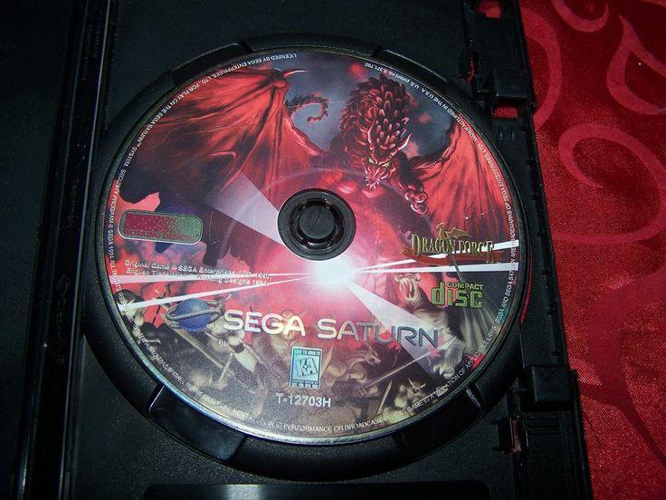 Dragon Force SEGA Saturn RARE RPG (disc only)