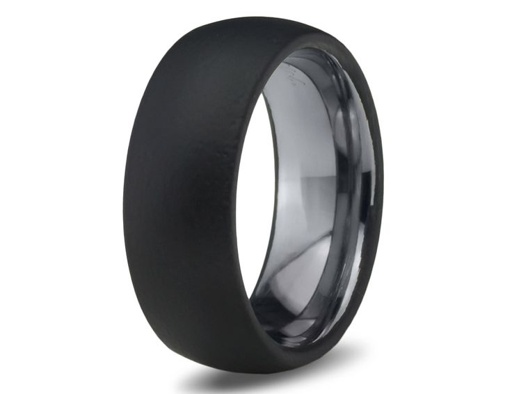 mens wedding band black tungsten ring black wedding bands colored ring