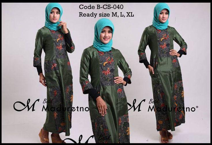 Abaya Gamis Terbaru Extra Large Batik Fa On Pinterest