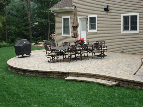 Raised Patio For The Home Pinterest