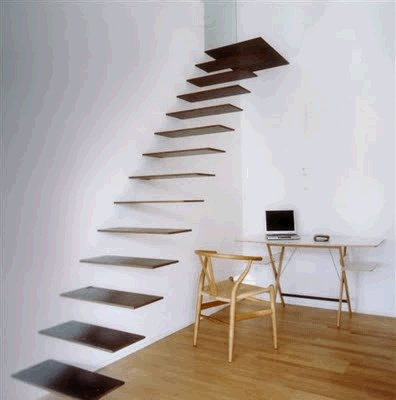 Suspended Steps Stairway | Foyers/Stairways | Pinterest: pinterest.com/pin/24066179231107399