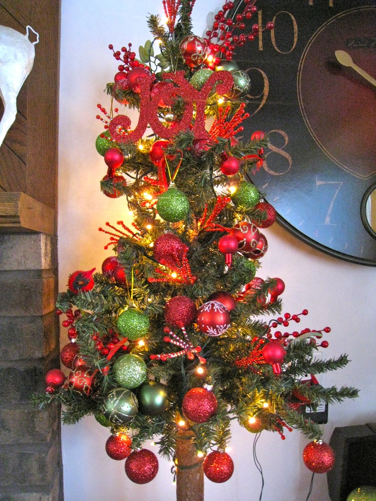 Beautiful Mini Christmas Tree Decorated Christmas