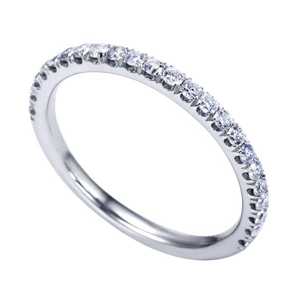 Genesis Designs WB7225W44JJ Wedding Ring 14K white gold victorian ...
