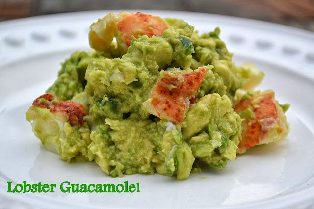 Lobster Guacamole recipe from @Colleen Kennedy / Souffle Bombay