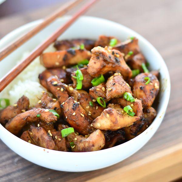 Homemade Teriyaki Chicken - Just Putzing Around the Kitchen