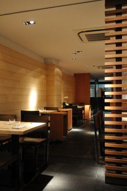 Japanese Restaurant Interior Design Modern Japanese