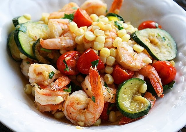 summer shrimp stir-fry | Feed Me | Pinterest