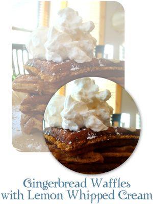 Gingerbread Waffles (Gluten Free) Recipes — Dishmaps