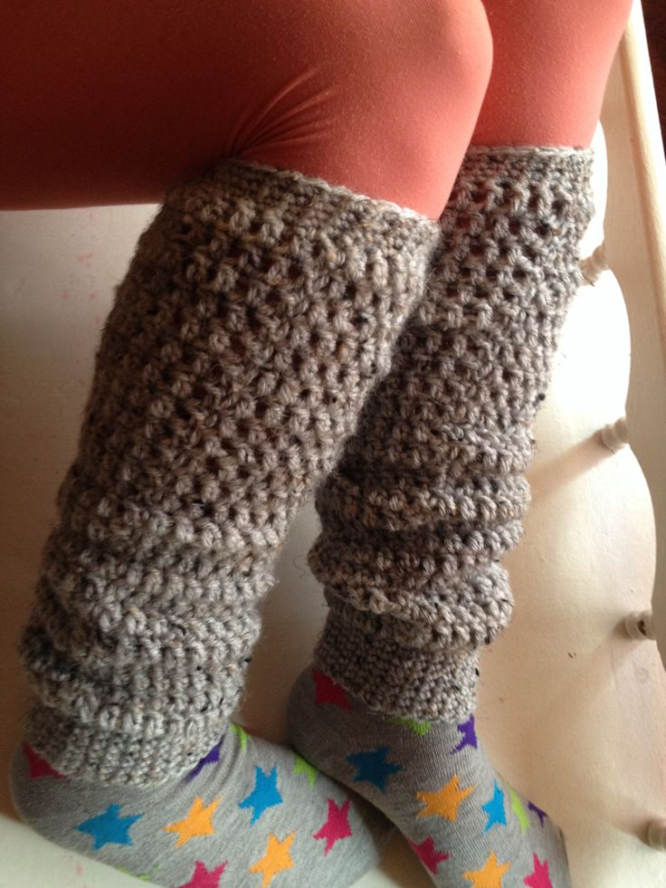 Crochet leg warmers. My Style :) Pinterest