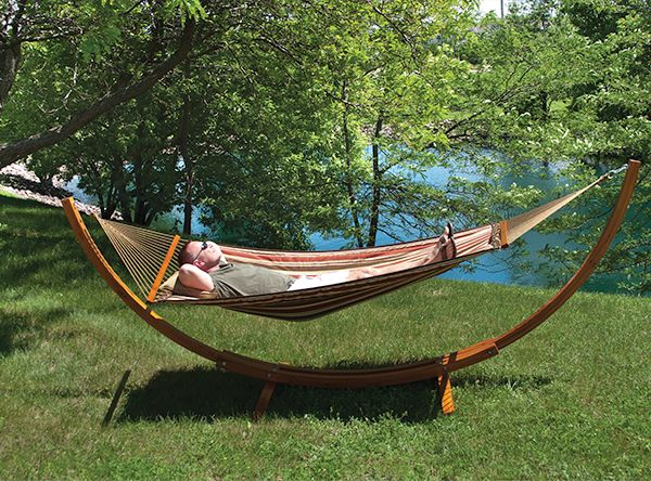 hammock chair stand menards