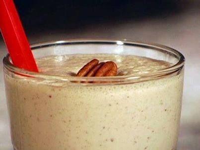 Bourbon Pecan Pie Milk Shake ½ pint (1 cup) Vanilla ice cream ½ cup ...