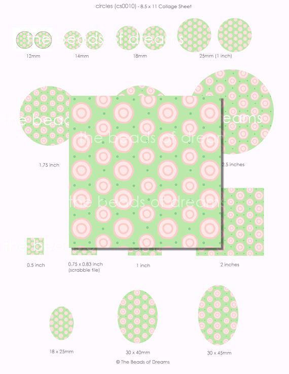 Beads and Jewelry supplies - The Beads of Dreams - Pink and green ...