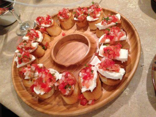 Mozzarella Bruschetta | Healthy Eats n Treats | Pinterest