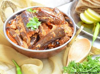 Eggplants cooked with yoghurt and spices | I AM VEGAN | Pinterest