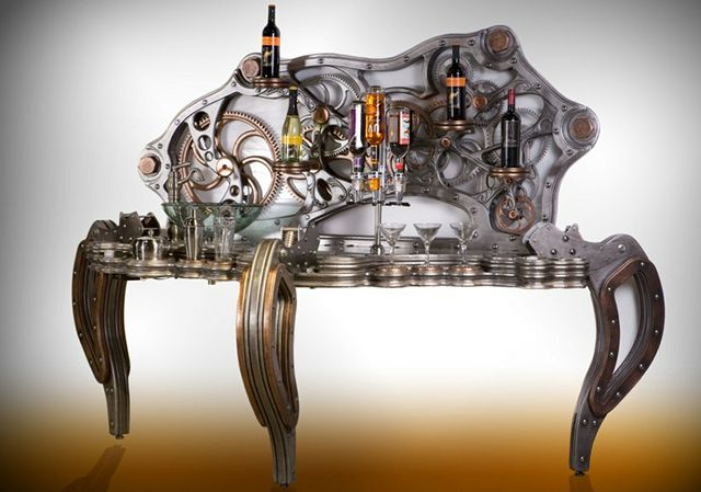 Steampunk Bartender - Thanks to Krystian Thomas for bringing it to my attention.
