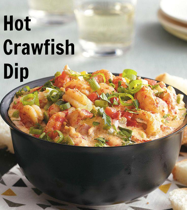 Creamy Crawfish Dip Recipe — Dishmaps