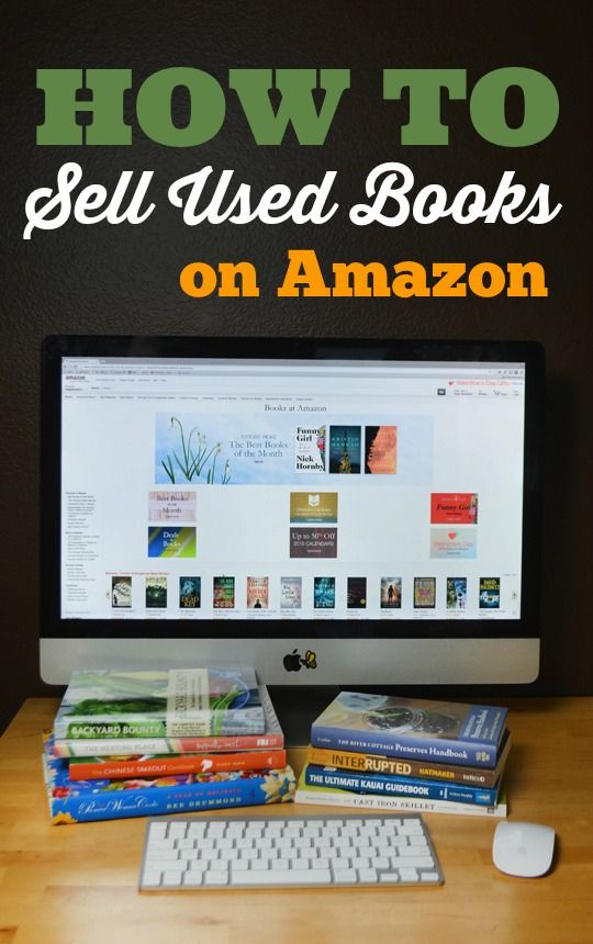 how to sell books on amazon and make money