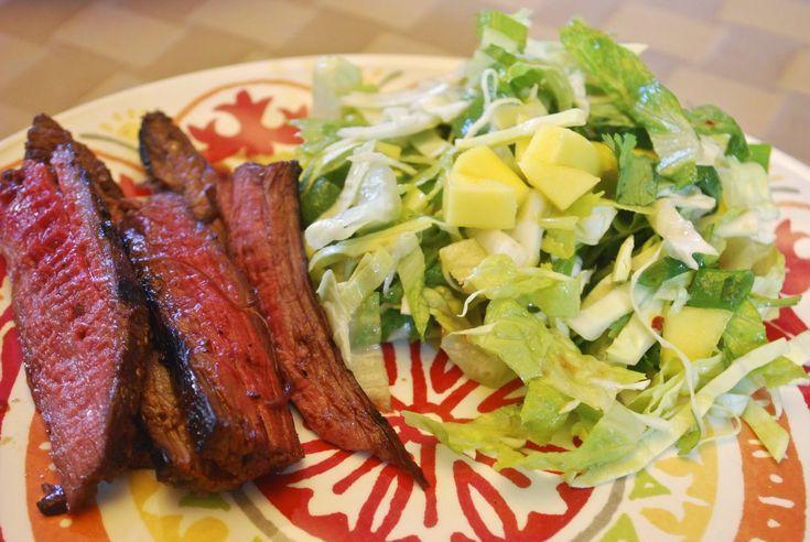 "Point-less"" Meals: Grilled Asian Flank Steak - wasn't a big fan of ..."