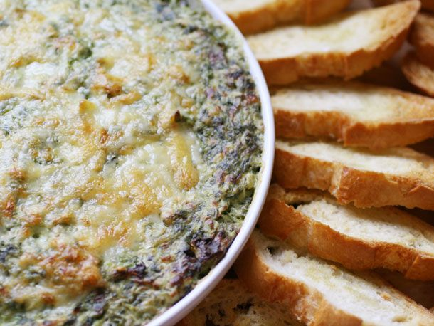 Boursin and Gruyère Spinach and Artichoke Gratin Dip | Serious Eats ...