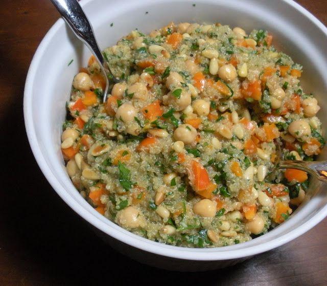 Lemony Quinoa Salad | Food ideas and Favorite Recipes | Pinterest