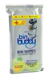 New citrus bin buddy wipes kill 99 of bin germs including e coli