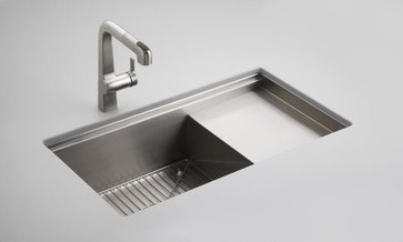 The coolest sink ever  KOHLER K 3760 NA Stages 33 Stainless Steel