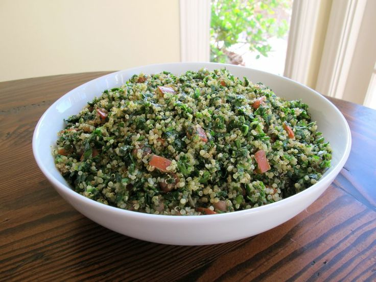 Kosher For Passover- Quinoa Tabbouleh Salad