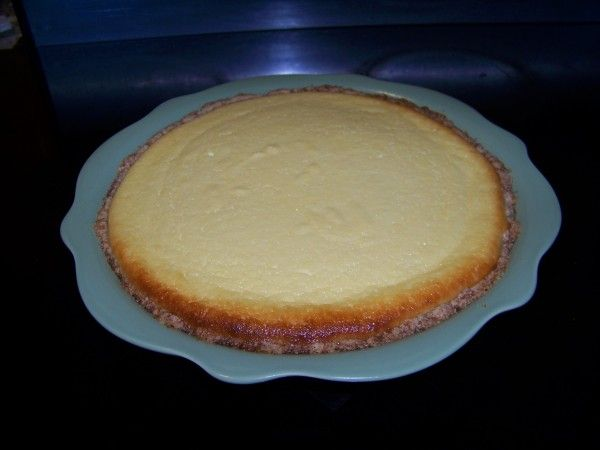 Sweet Ricotta Cheese Pie (8 servings, 6g carbs per serving)
