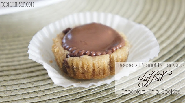reeses stuffed chocolate chip cookies | Peanut butter....my forbidden ...