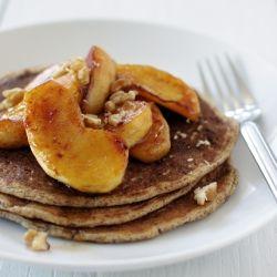 Apple Cinnamon Compote. #WholeWheat #Walnut #Pancakes #Apple #Cinnamon ...