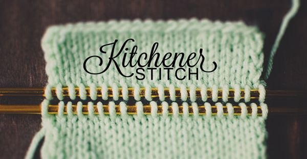 Kitchener+Stitch Kitchener Stitch Tutorial Knitting Essentials ...