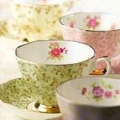 Pretty Royal Albert tea cups
