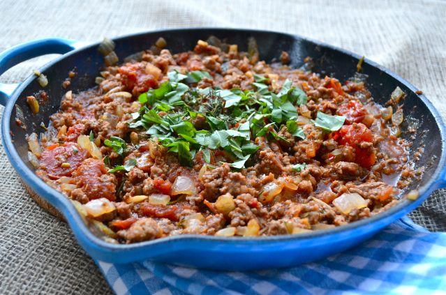 Italian Meet Sauce with Zucchini Noodles | Paleo-o-o | Pinterest