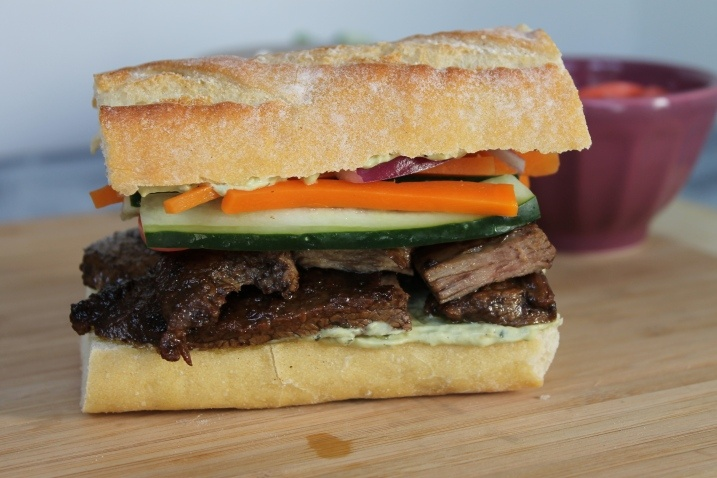 steak avocado and spicy crema sandwiches recipes grilled flank steak ...