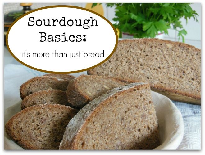 Sourdough bread is simple, basic, and healthy. WholeIntentions.com.