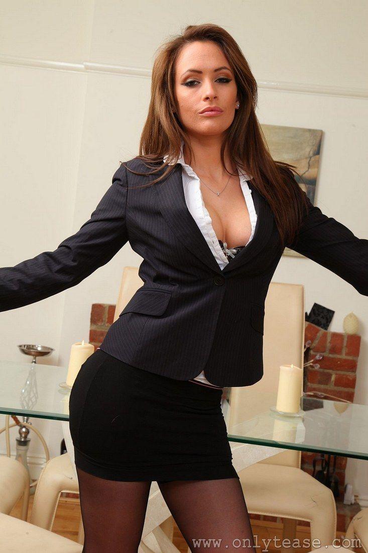 Brunette boob model Sensual Jane gets undressed at the office № 222830 без смс