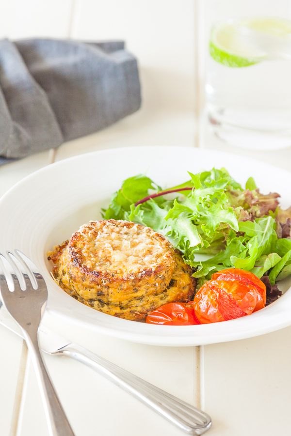 Twice Baked Ricotta & Herb Souffle's #vegetarian | DeliciousEveryday ...