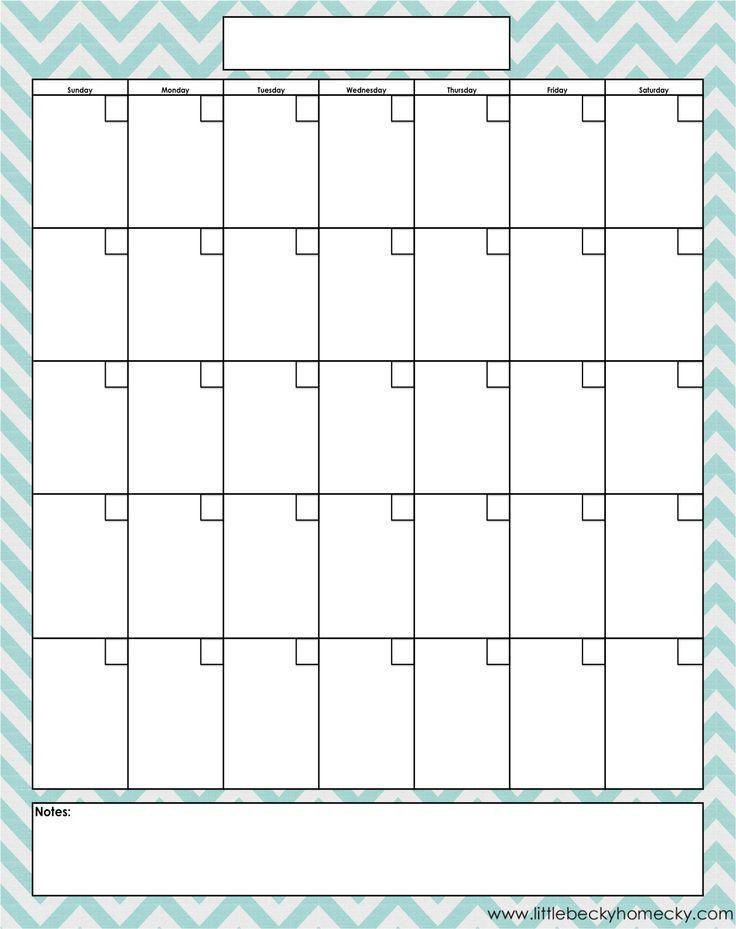 Best 25+ Blank calendar template ideas only on Pinterest | Free ...
