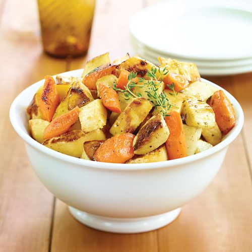 Honey-Roasted Root Vegetables (don't forget the DIY Basting Oil Recipe ...