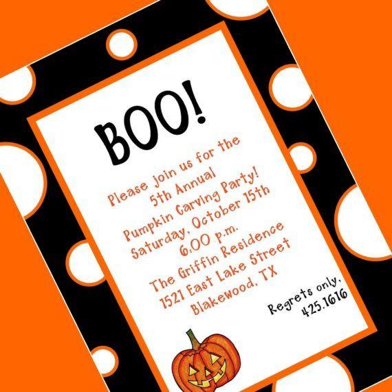 Pin Halloween Invitation Wording Bats On Pinterest