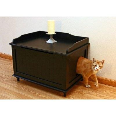 Hidden litter box Genius Dr Doolittle