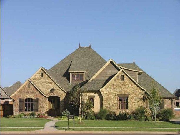 Front elevation like stone color arbor estates home for Brick elevation design