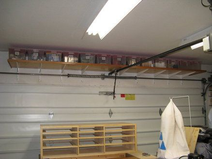 An awesome space saver for the garage house pinterest - Space saving ideas for garage ...