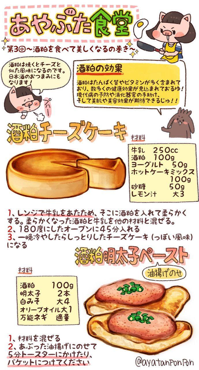 お菓子 レシピ イラスト