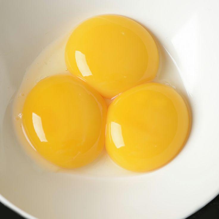 3 leftover egg yolk recipes