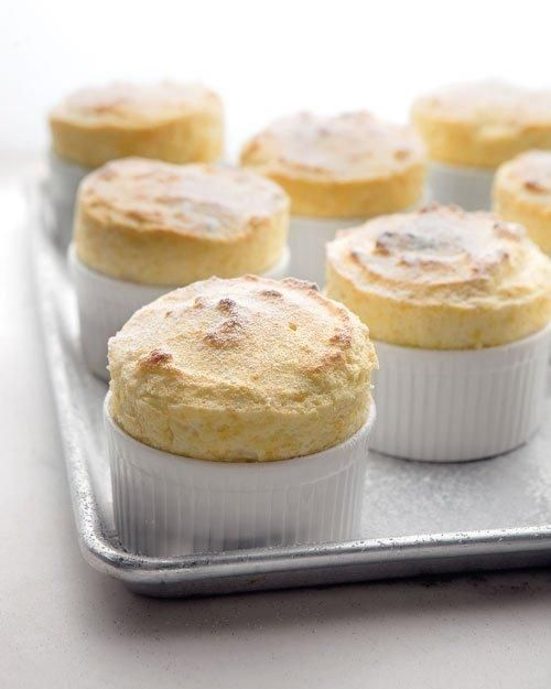 Miniature Grapefruit Souffles with Ginger Recipe
