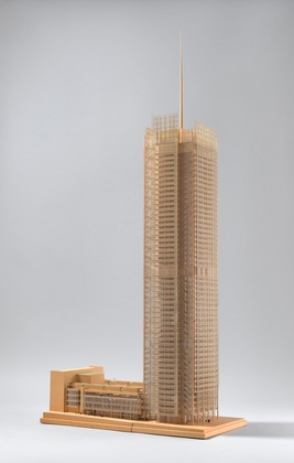 Renzo Piano Scale Model 1 84 Of The New York Times Building New