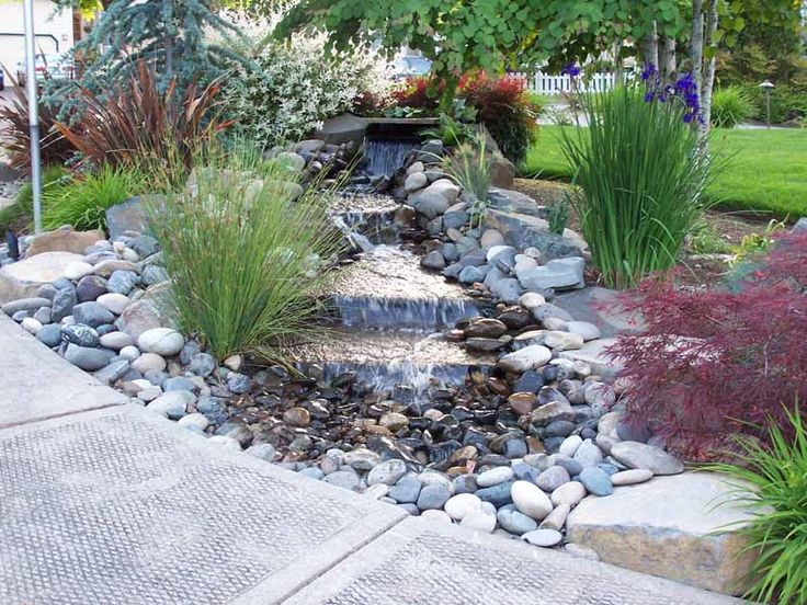 How to build a pondless water feature pictures to pin on pinterest - I