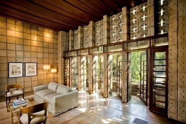 Millard House Interior Frank Lloyd Wright Pinterest